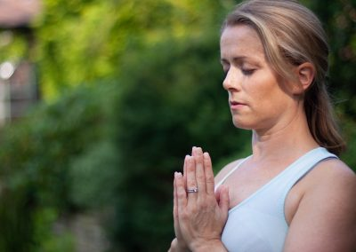 yoga photography in stockport